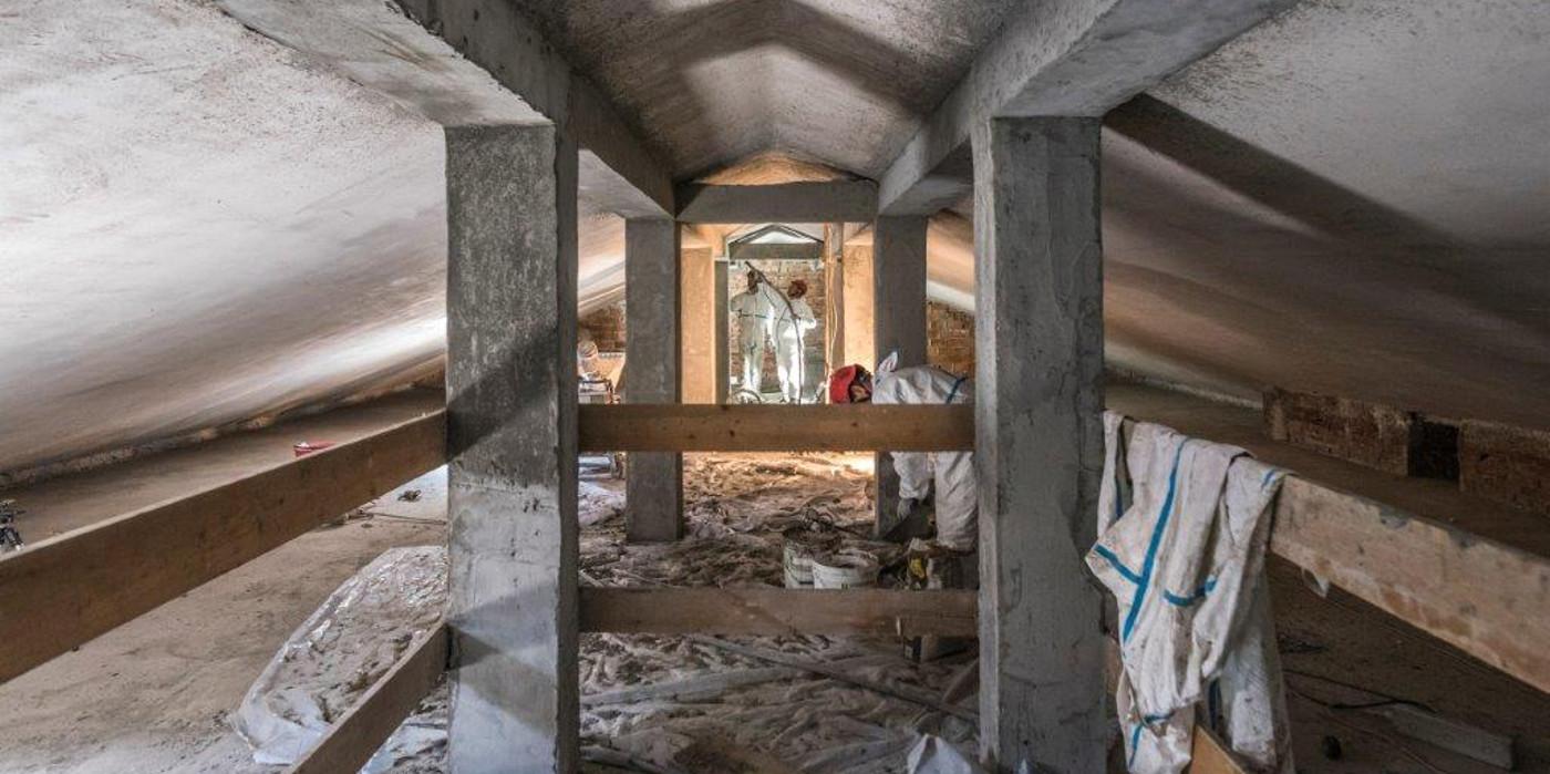 Consolidamento strutturale non distruttivo di tetto e solaio Cerbone Costruzioni Trieste