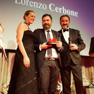 Lorenzo Cerbone riceve il Premio Impresa 2019 2