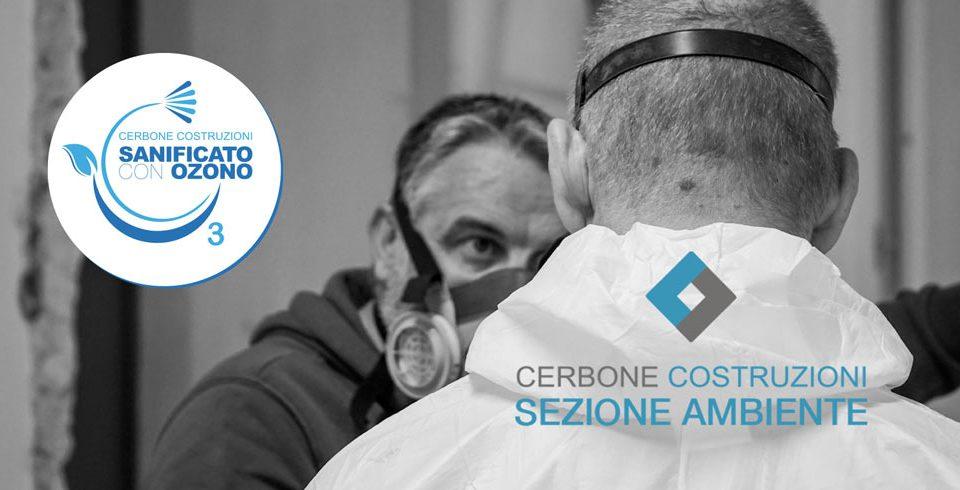 Sanificazione con Ozono Cerbone Costruzioni Trieste